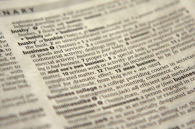 Inventarisatie Definitiegebruik